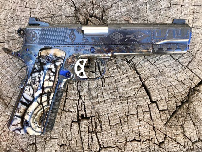 Ansazi Engraved Republic 10mm