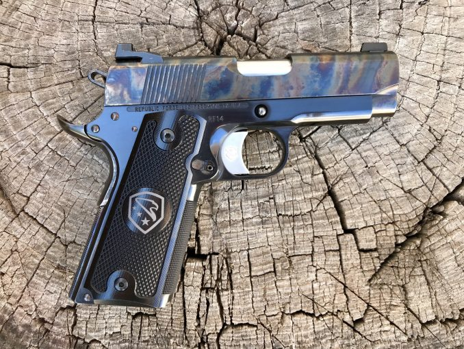 Defiant .45 ACP with Case Color Slide RF14