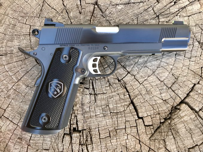 Raider with Blued Slide and Cerakote Frame RO289
