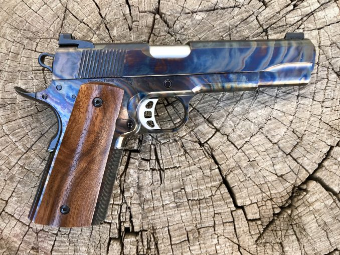 Color Case Republic 45 ACP with Walnut Grips
