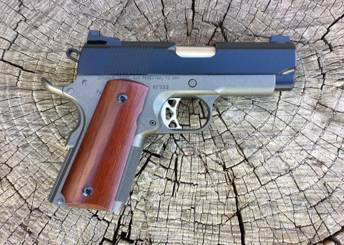 .45 ACP Two Tone General Officer Model RF333