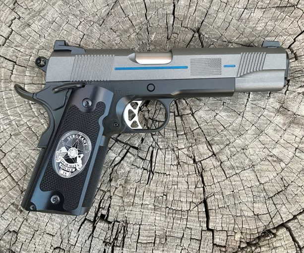 Thin Blue Line Law Enforcement Edition 45 ACP Republic RF428 – SOLD