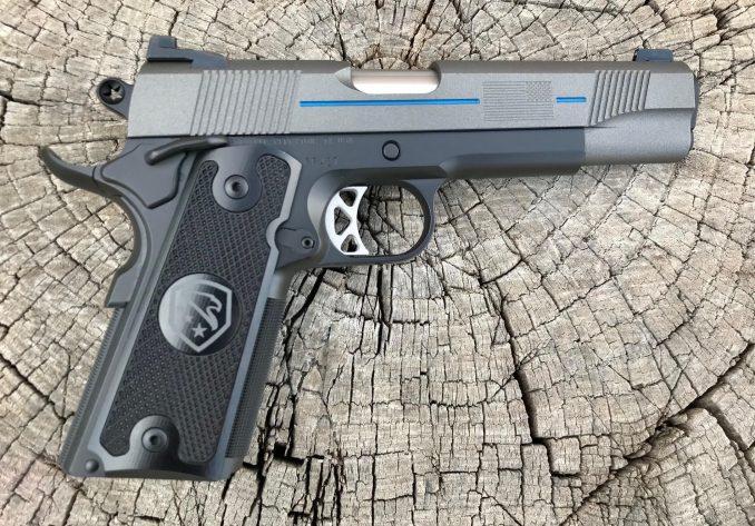 Thin Blue Line Law Enforcement Edition 45 ACP Republic RF427