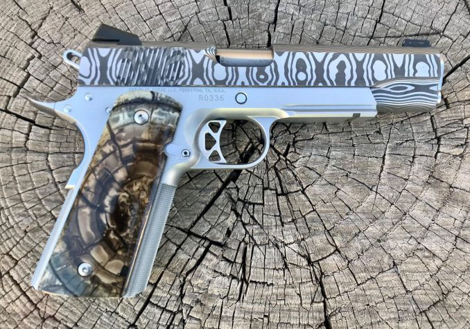 9mm Lightrail Damasteel Raider Government RO336